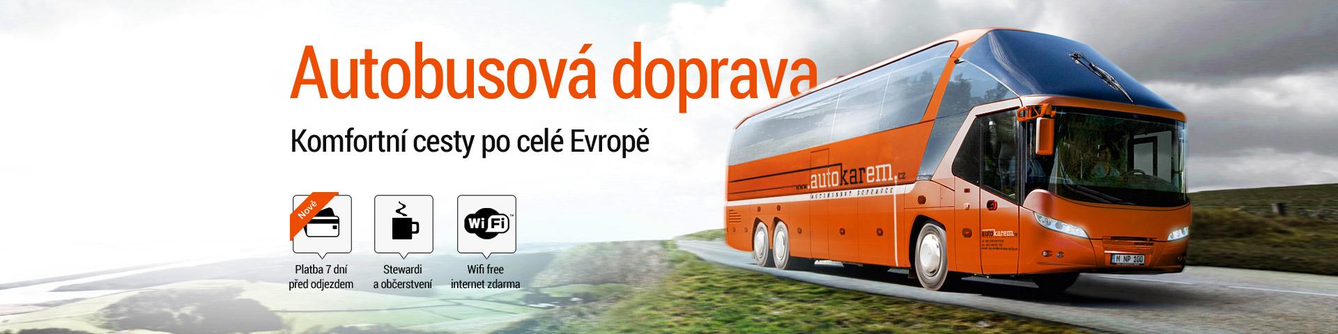 Autobusová doprava Autokarem.cz