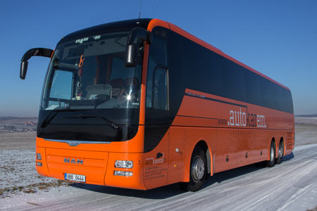 Autobus MAN LIONS COACH 2014 – 59 Míst